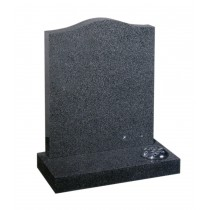 Rustenburgh -  Mid grey granite. Available in all shapes to suit Churchyard or Cemetery. Lawn Memorial, Headstone