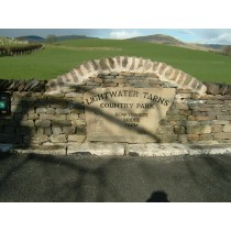 Yellow Sandstone Engraved with Hand Cut Letters Name Plate