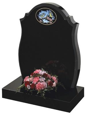 Bainton. Lawn Memorial, Headstone