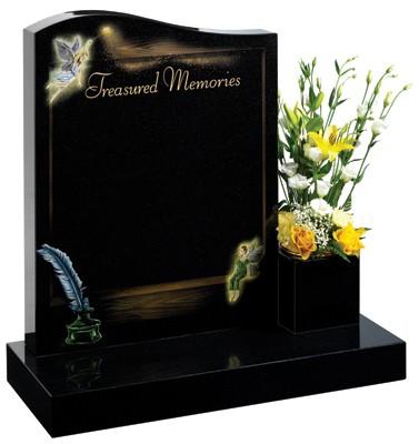 Elvington - Lawn Memorial, Headstone