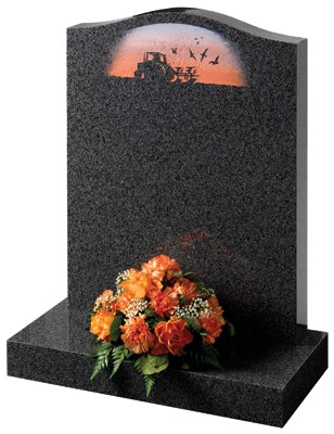 Ryehill Lawn Memorial, Headstone