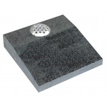PJ29 - Dark Grey Desk Plaque. Vases and Tablets