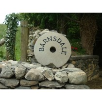 Large Stone Circle Name Plate designed to lean against the wall.