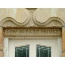 Stone Door Lintel Name Plate designed to be fit above the door.