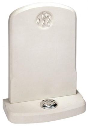 Bessingby Nabresina Limestone Lawn Memorial, Headstone