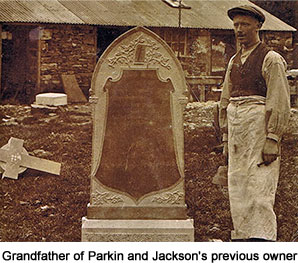 Grandfather of Parkin and Jackson's previous owner